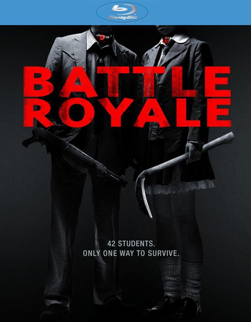 Publicity still for Battle Royale
