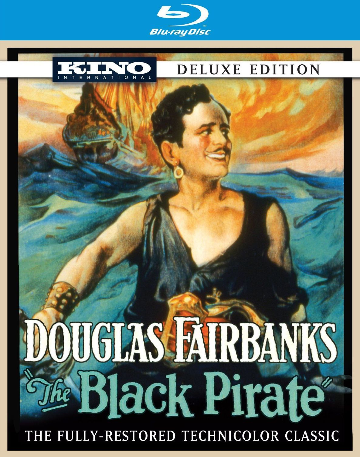 Publicity still for The Black Pirate