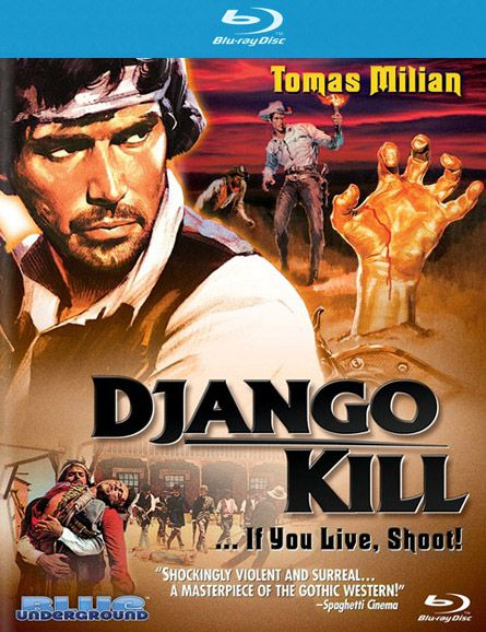 Publicity still for Django Kill…If You Live, Shoot!