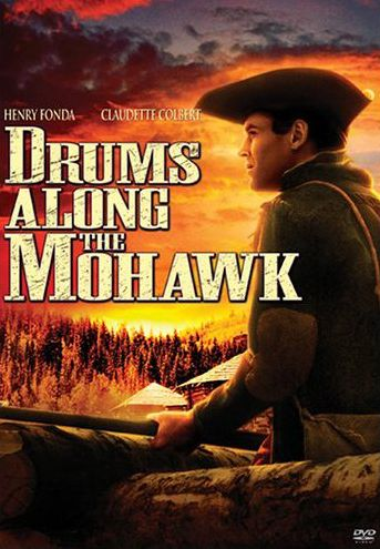 Publicity still for Drums Along the Mohawk