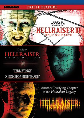 Publicity still for Hellraiser Triple Feature
