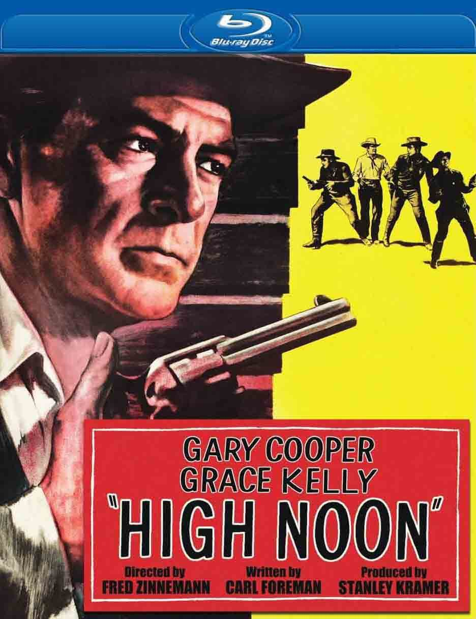 a description of hollywood in the 1950s in the films high noon and on the waterfront