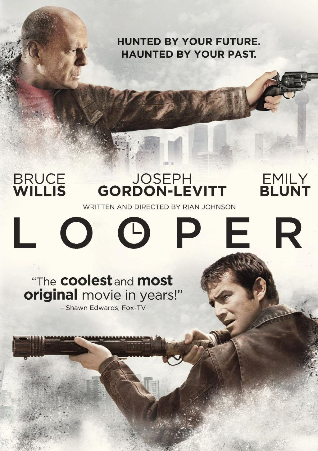 Publicity still for Looper