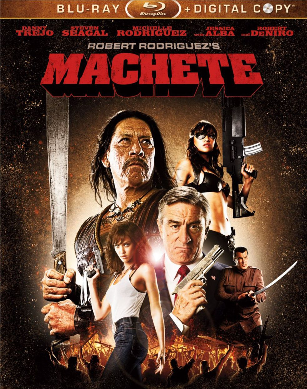 Publicity still for Machete