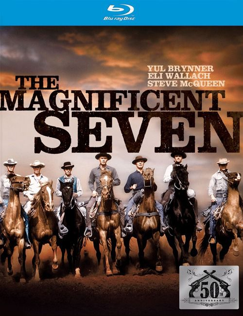 Publicity still for The Magnificent Seven