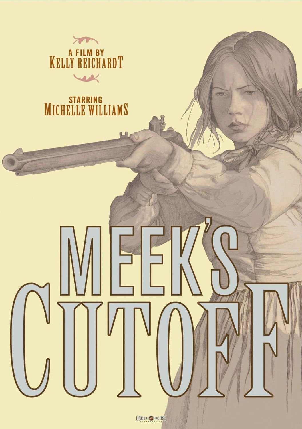 Publicity still for Meek's Cutoff