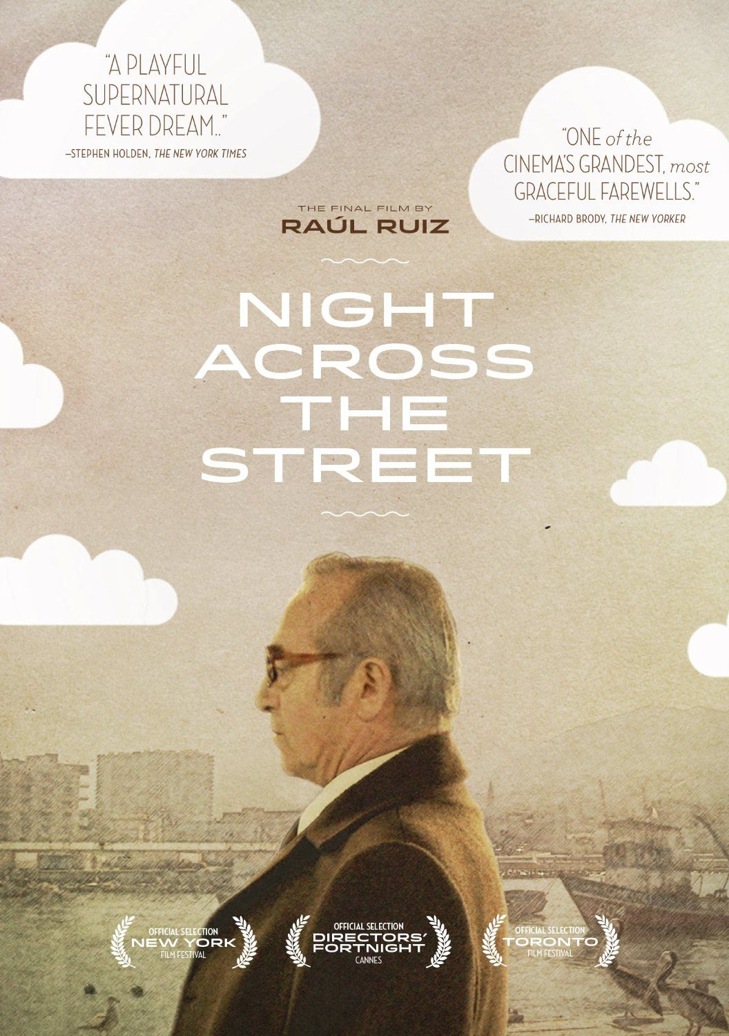 Publicity still for Night Across the Street
