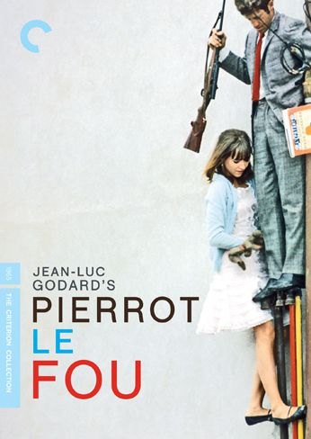 Publicity still for Pierrot le Fou