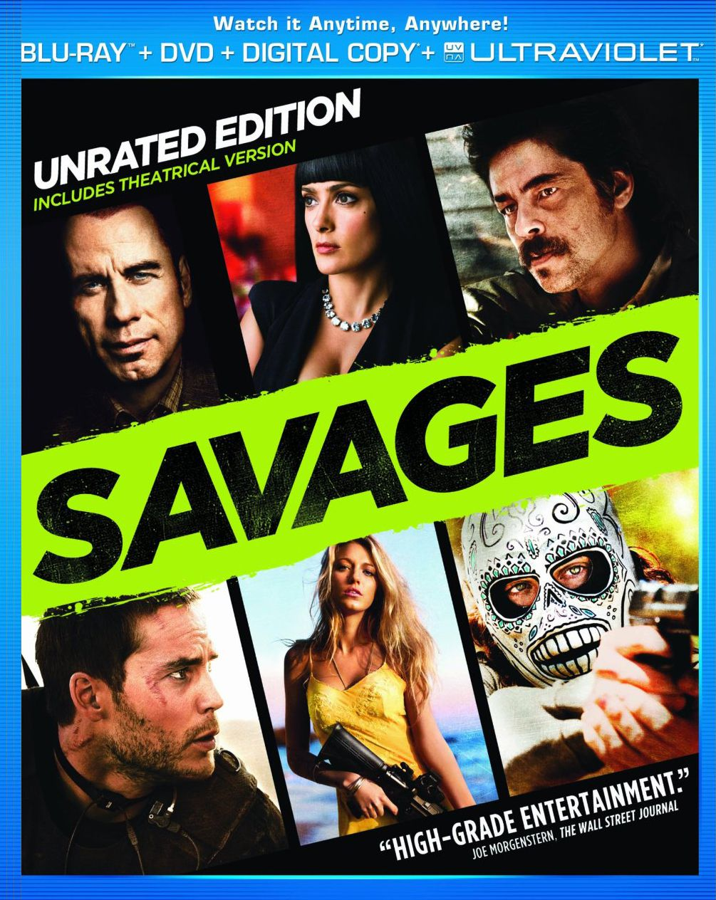 Publicity still for Savages