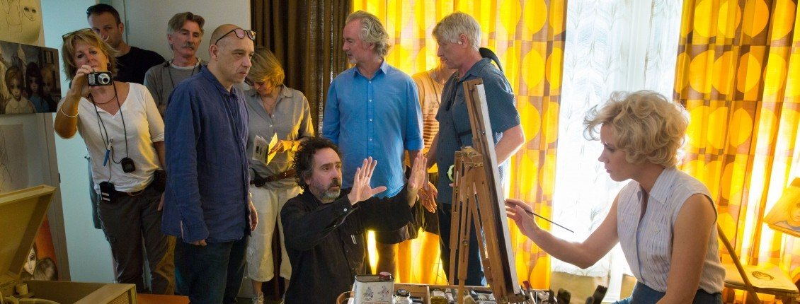 Interview: Tim Burton Talks Big Eyes, Margaret Keane, and More