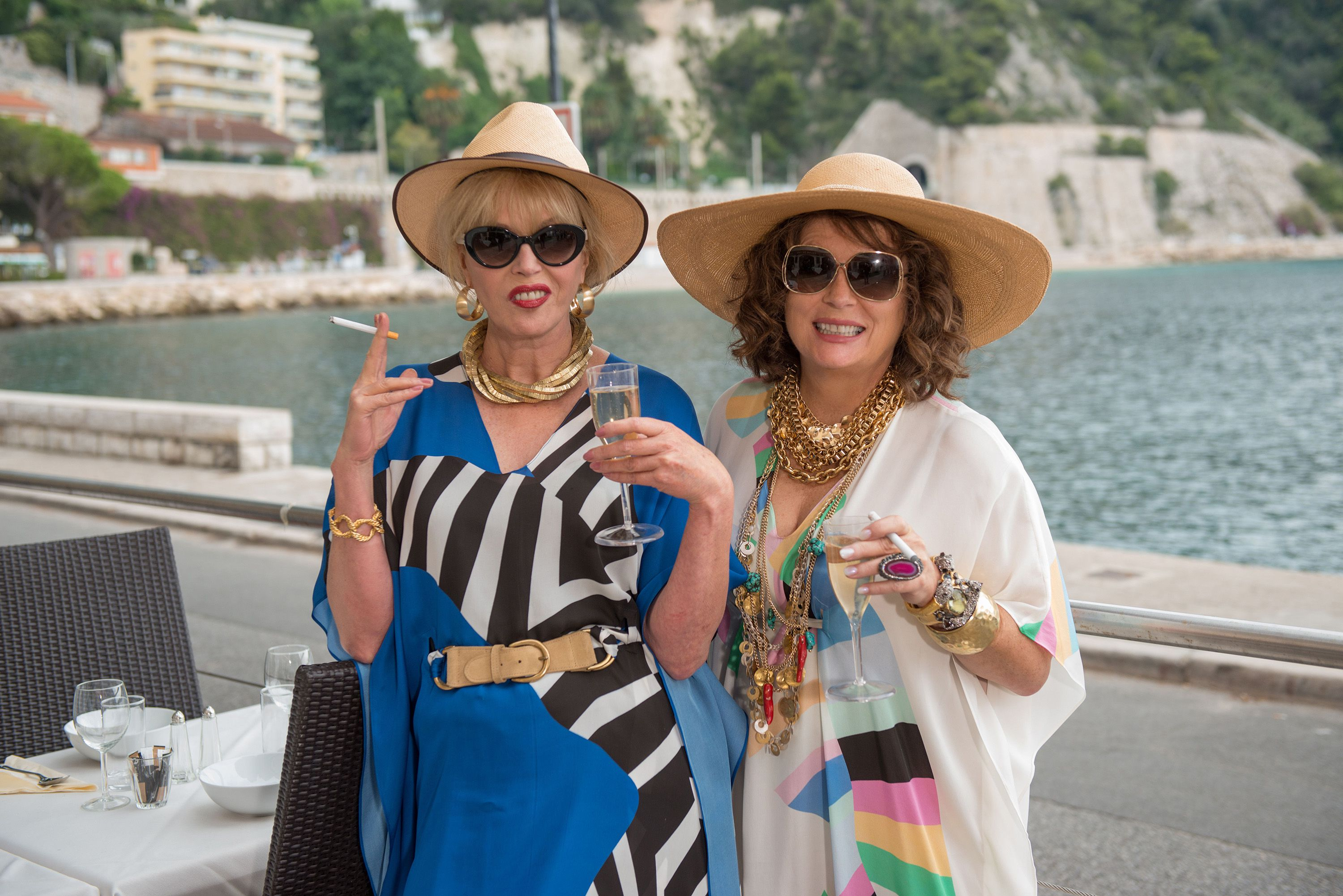Make The Cut >> Absolutely Fabulous: The Movie | Film Review | Slant Magazine
