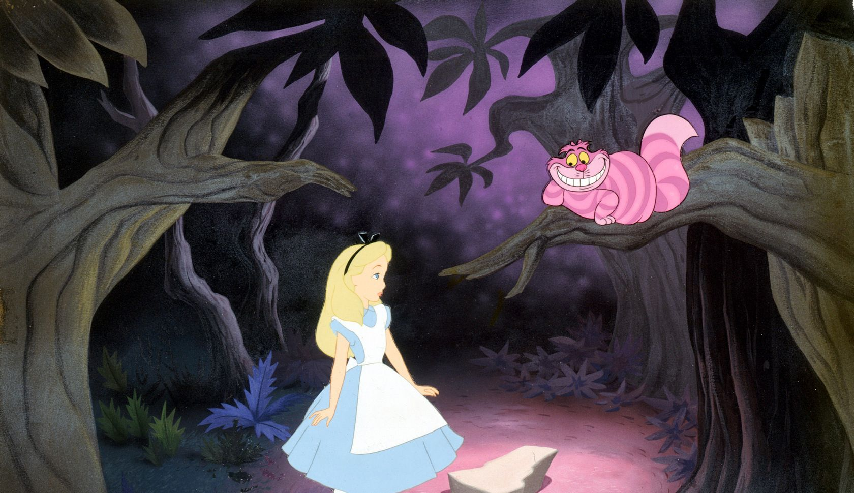An image from Alice in Wonderland