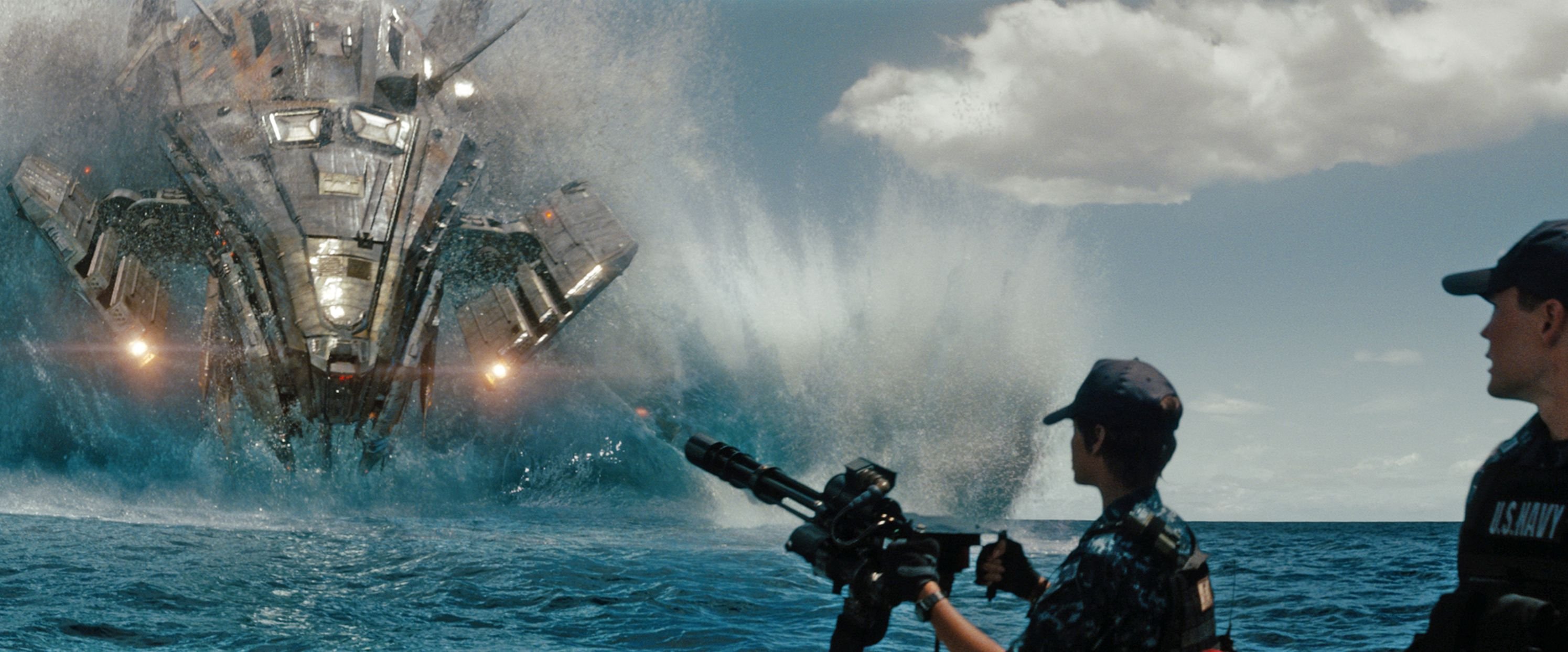 An image from Battleship