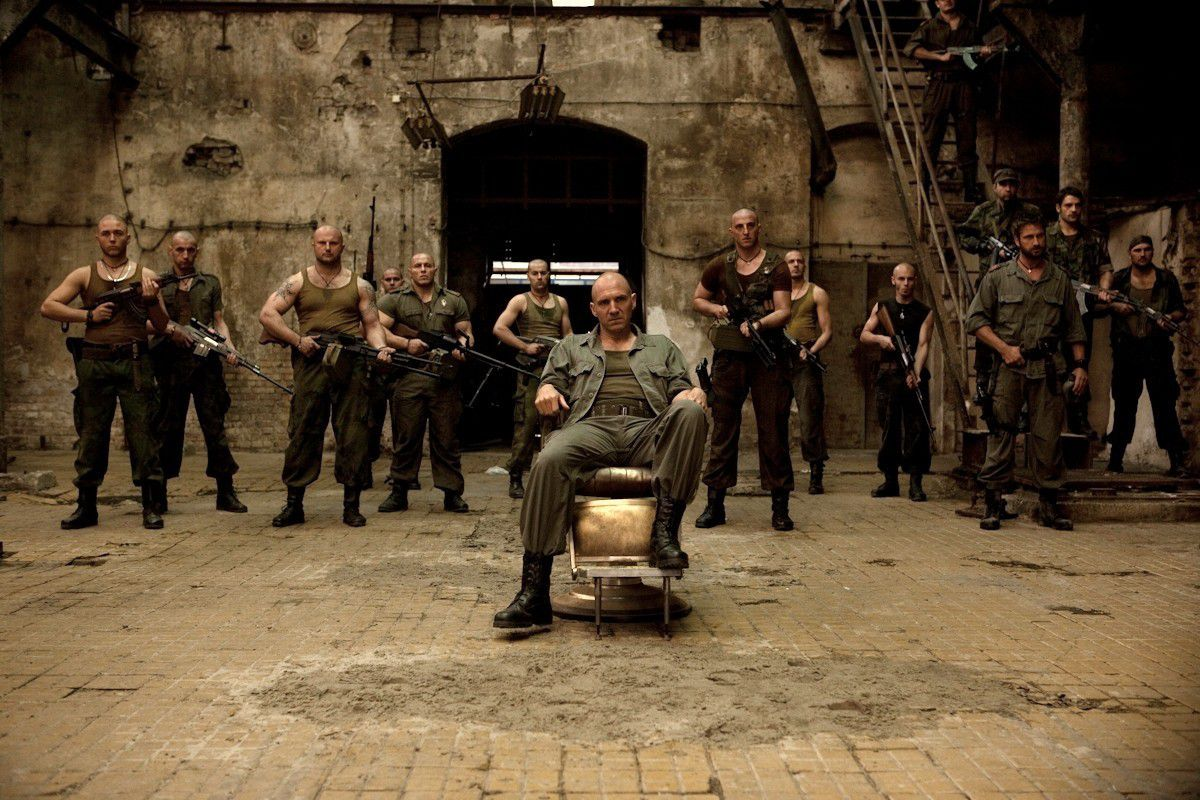 An image from Coriolanus