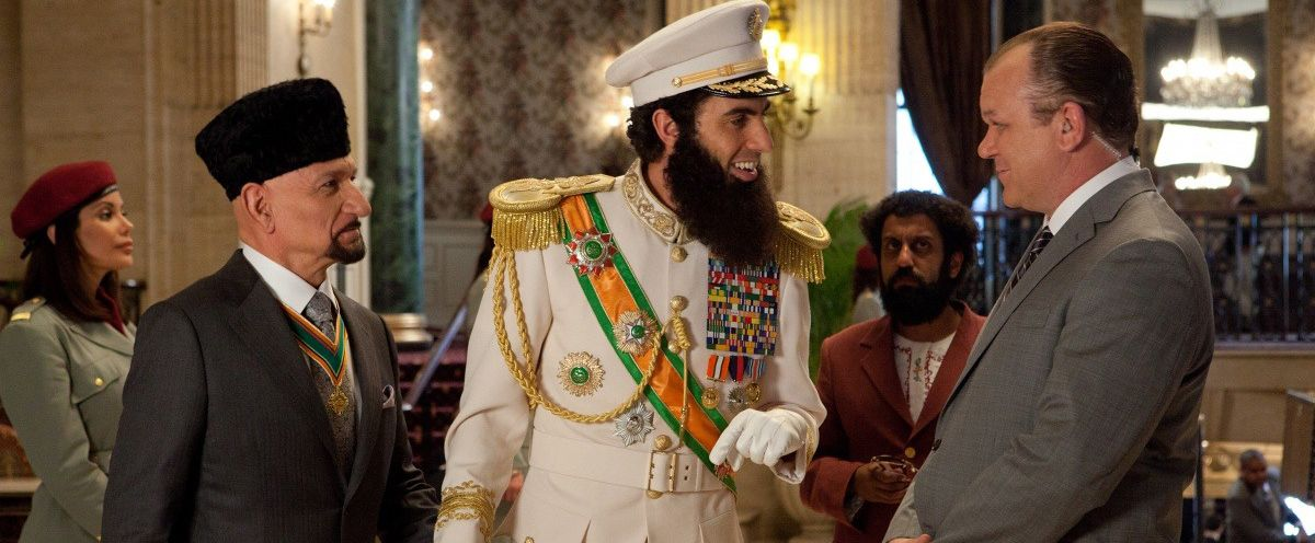 An image from The Dictator