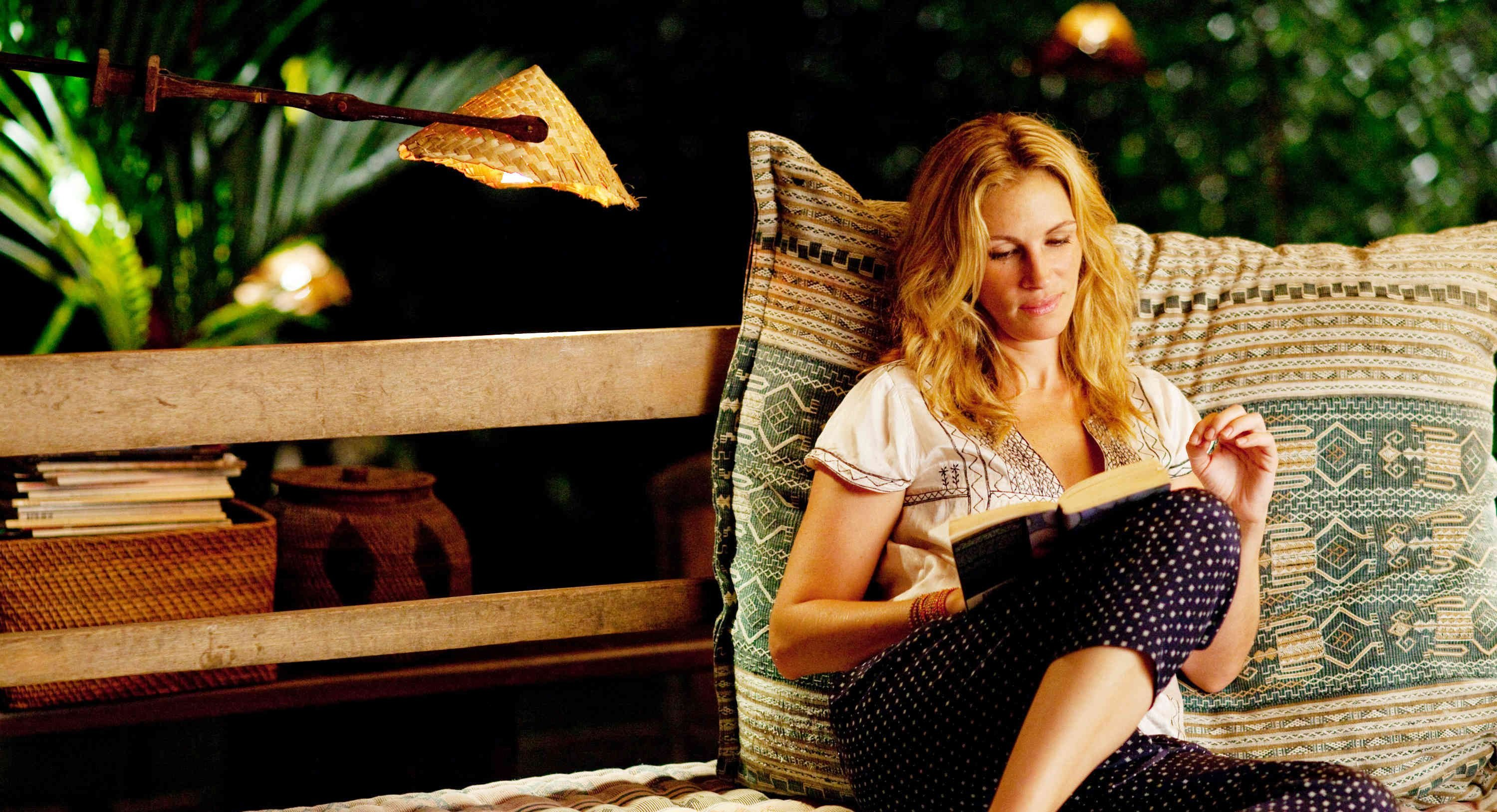 An image from Eat Pray Love