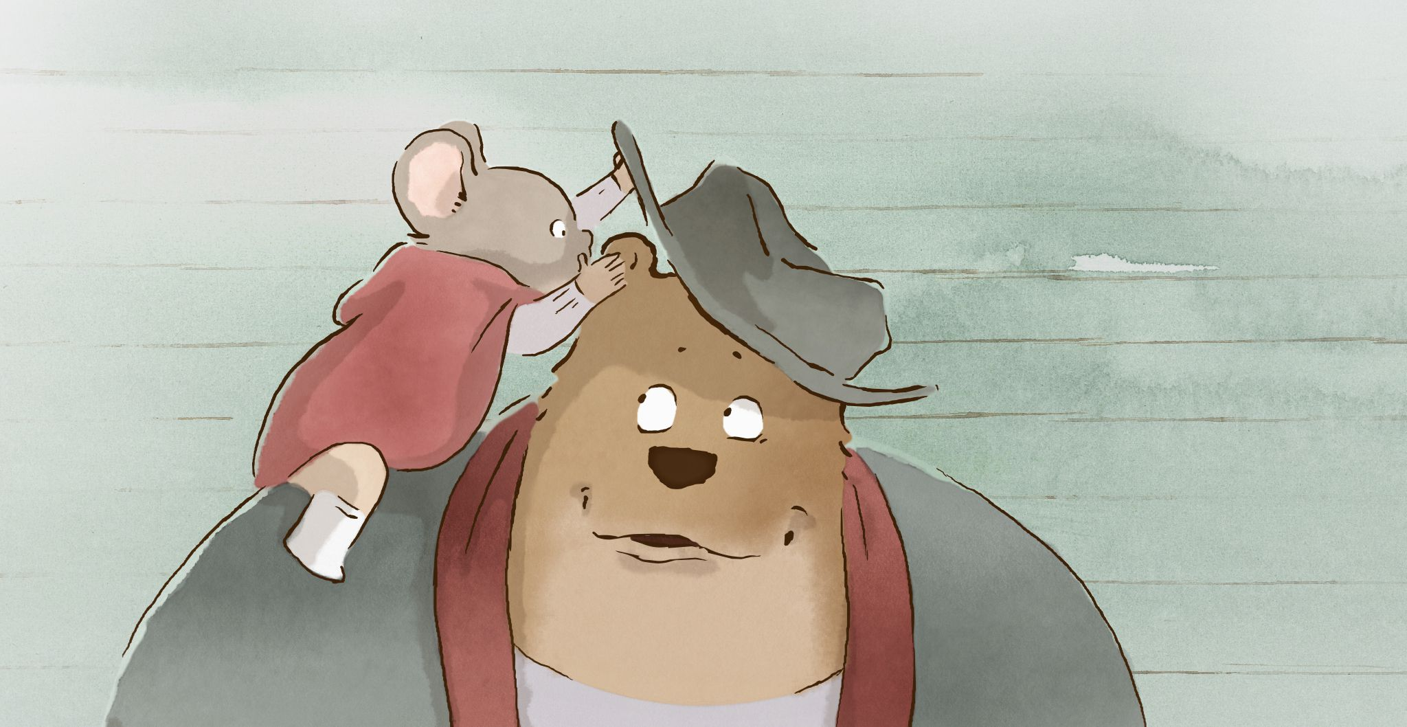 An image from Ernest & Celestine