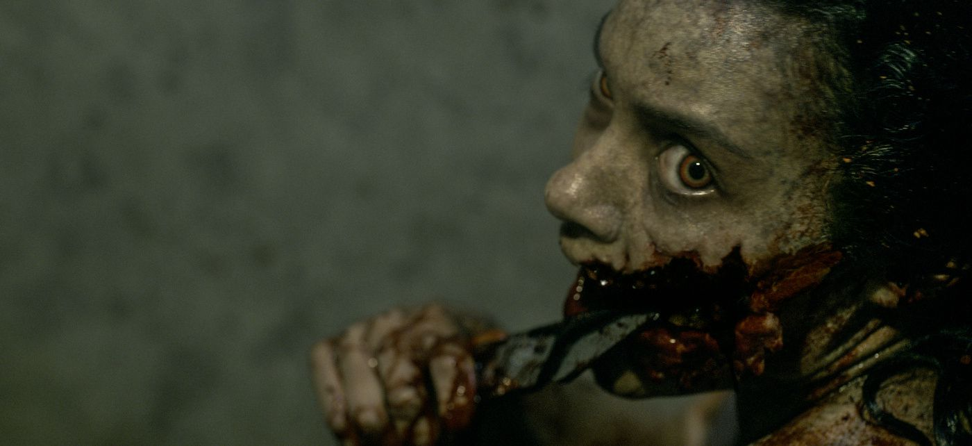 An image from Evil Dead