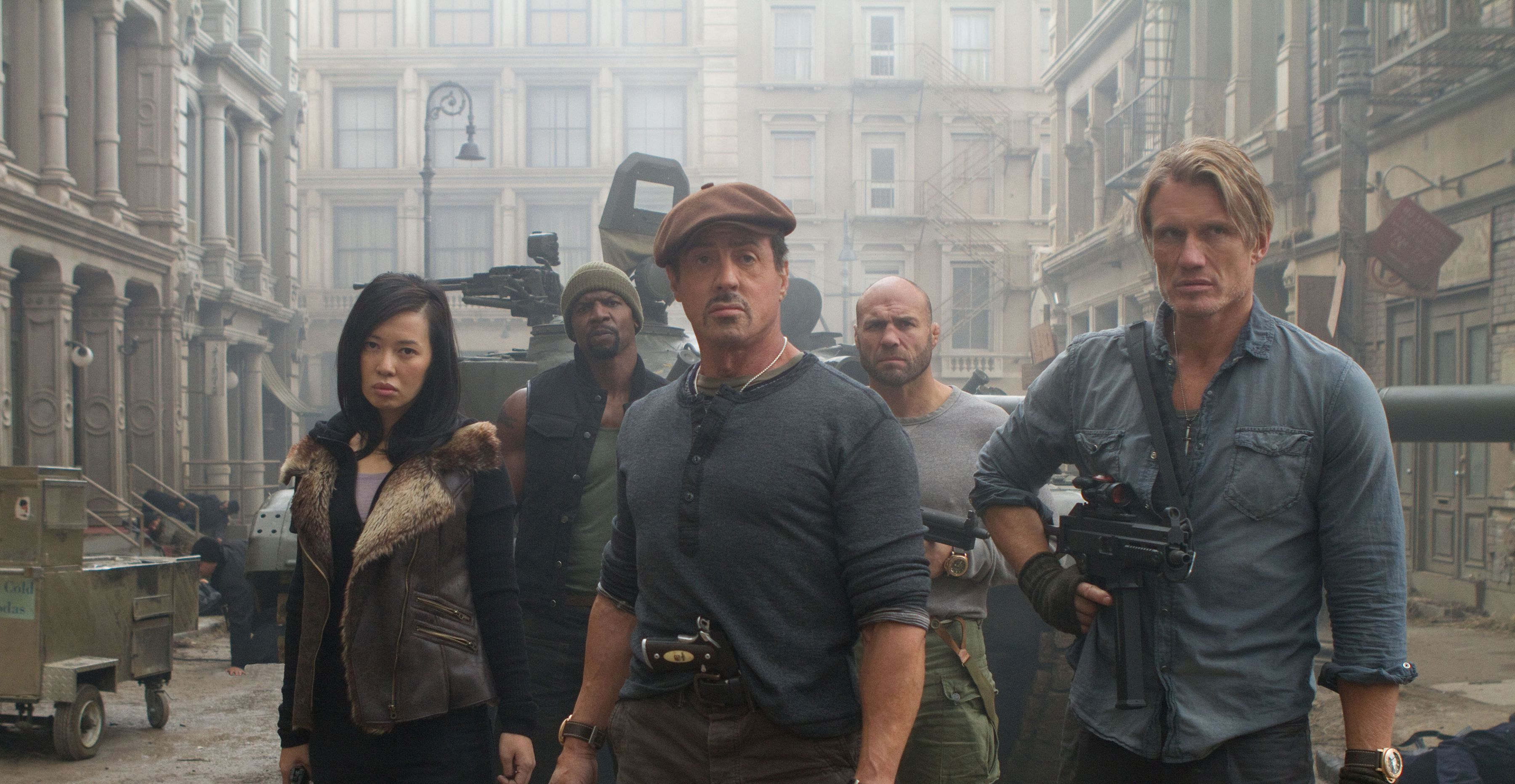 An image from The Expendables 2