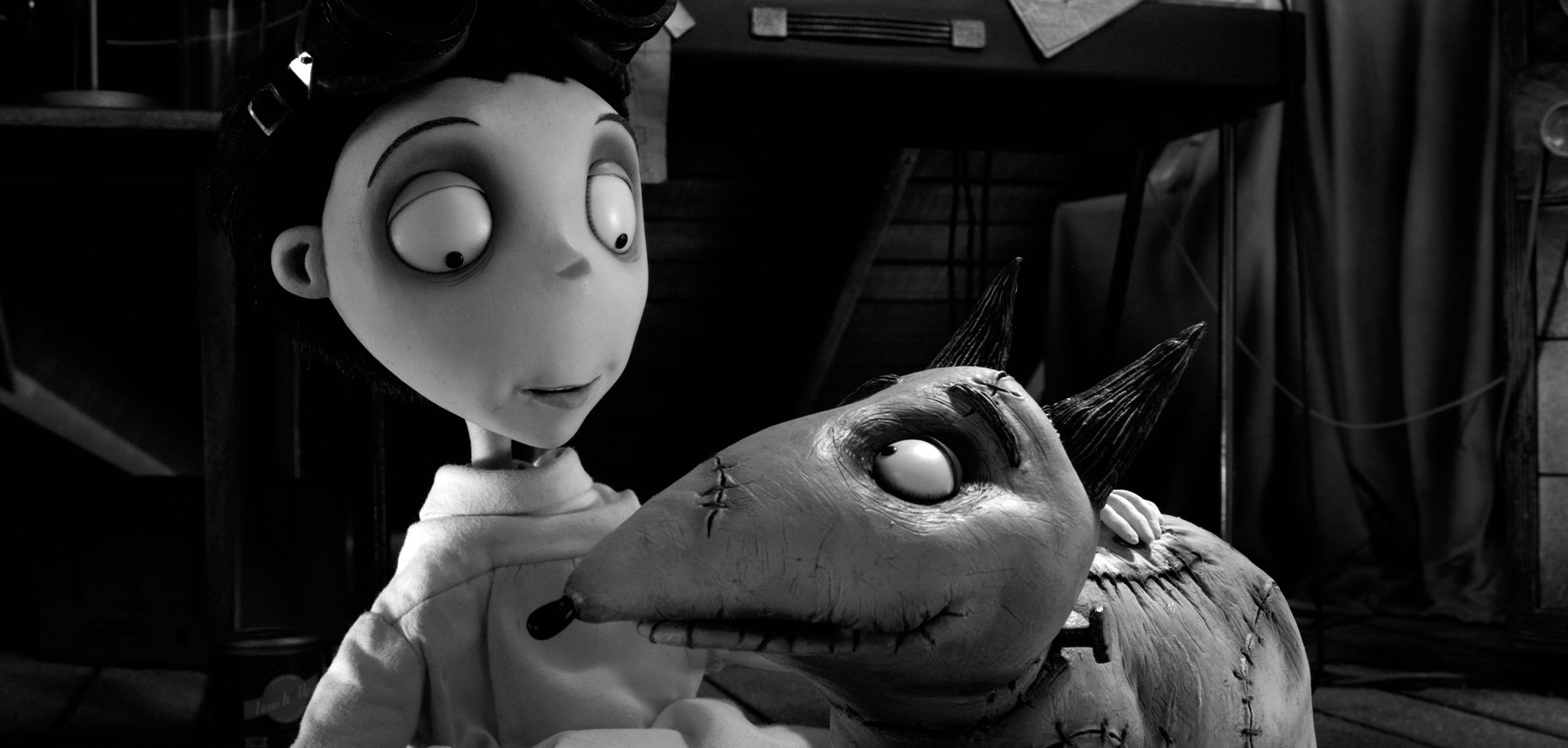An image from Frankenweenie