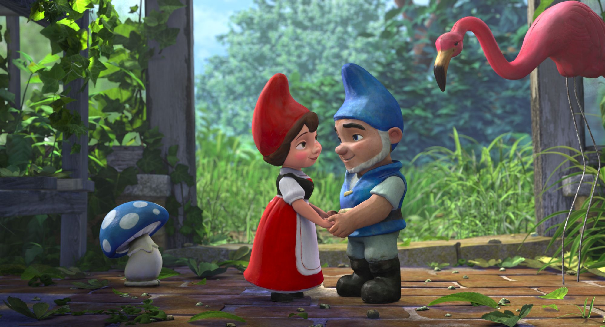 An image from Gnomeo & Juliet