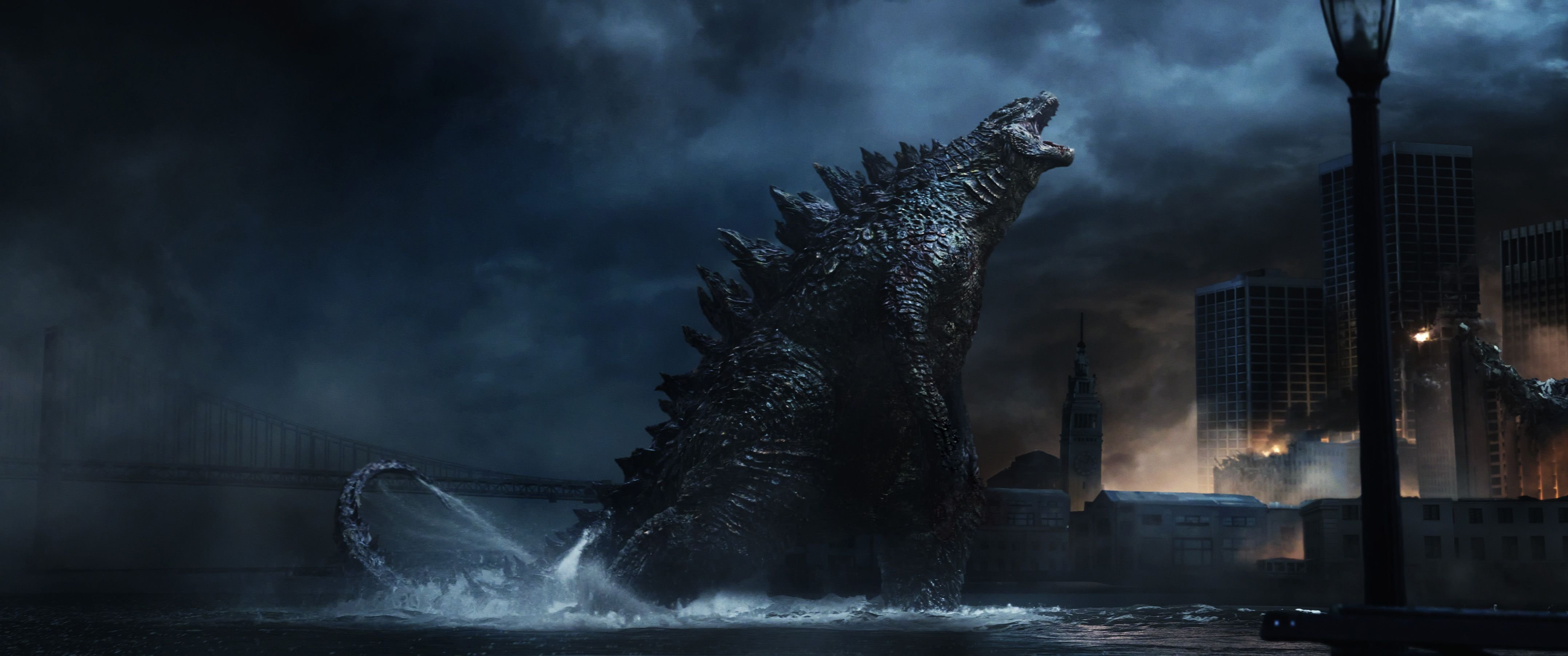 An image from Godzilla