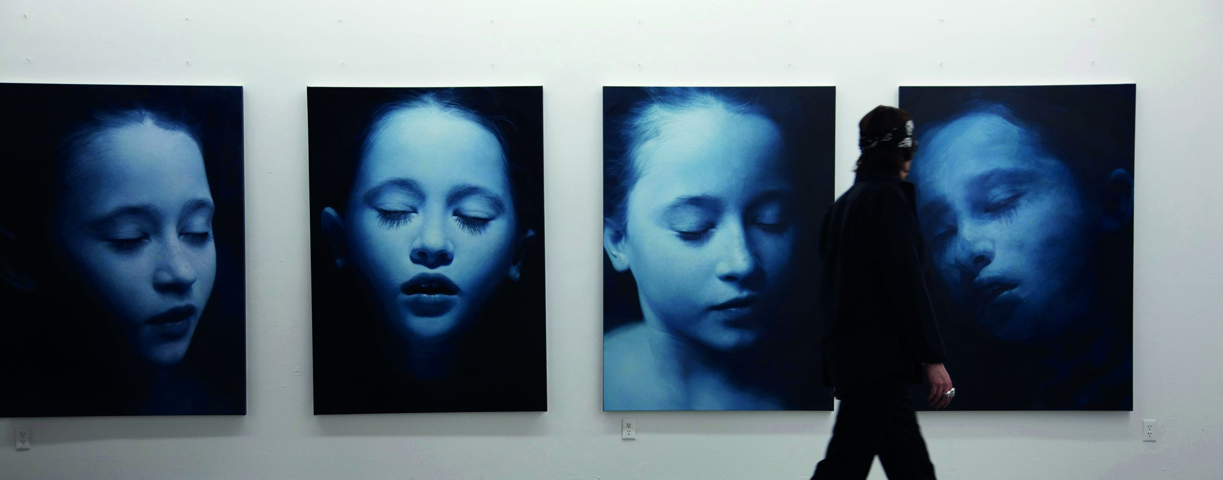 An image from Gottfried Helnwein and the Dreaming Child