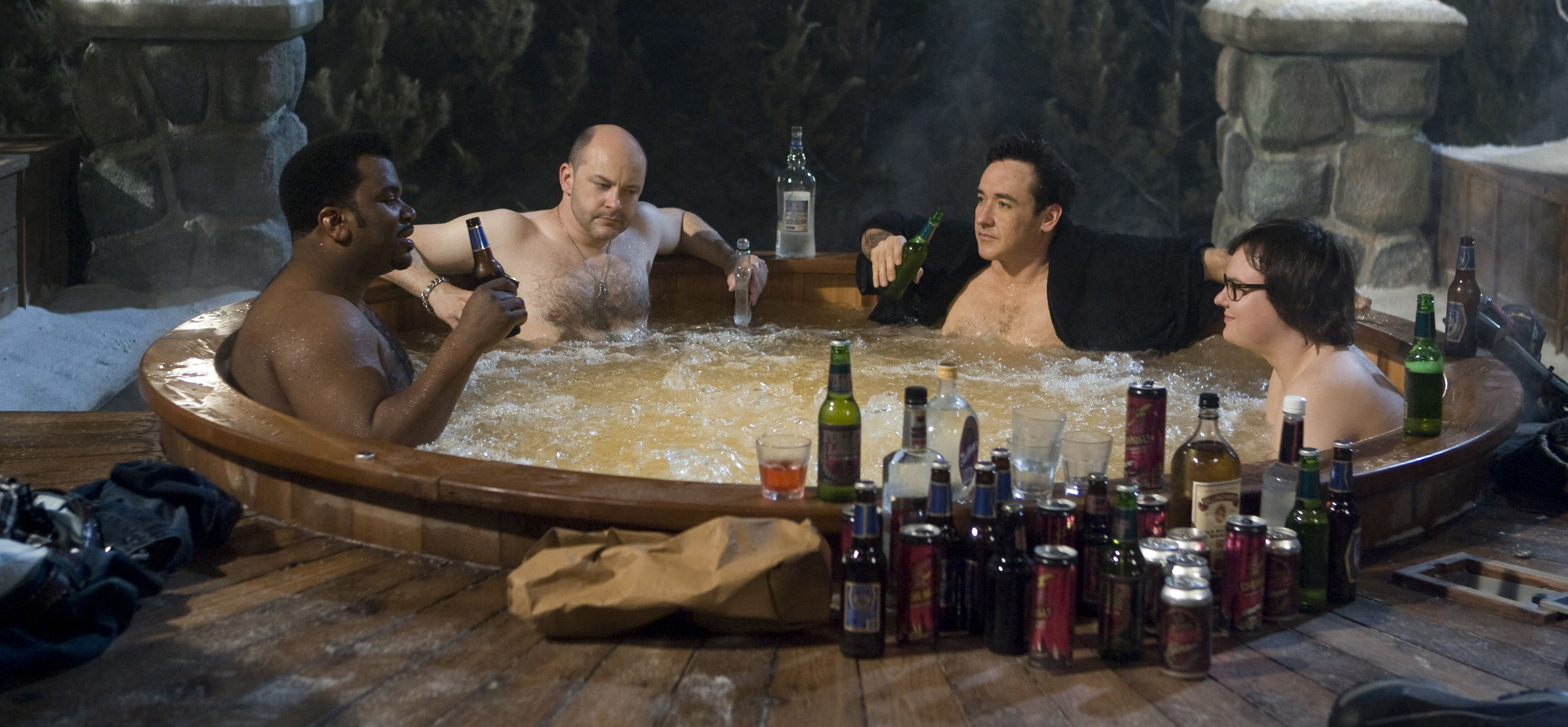 An image from Hot Tub Time Machine