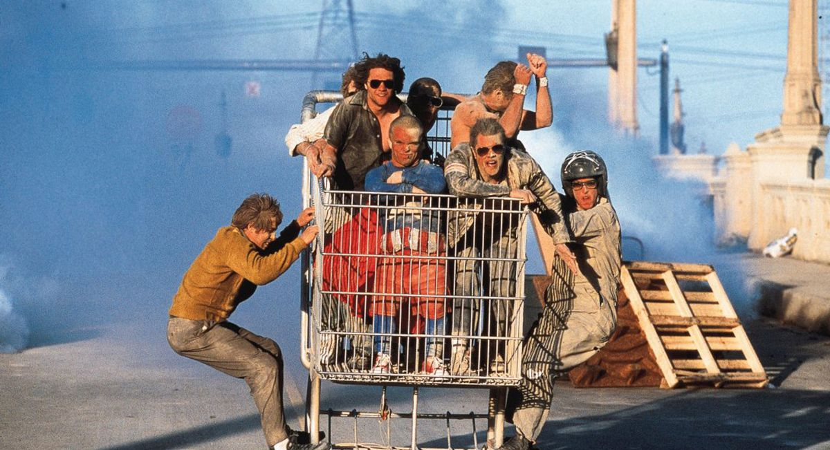 an analysis of the show and movie jackass Dunn rose to fame as part of the stunt crew for the mtv show jackass  in bam margera's viva la bam from 2003 to 2006 as well as all three of the jackass movies.