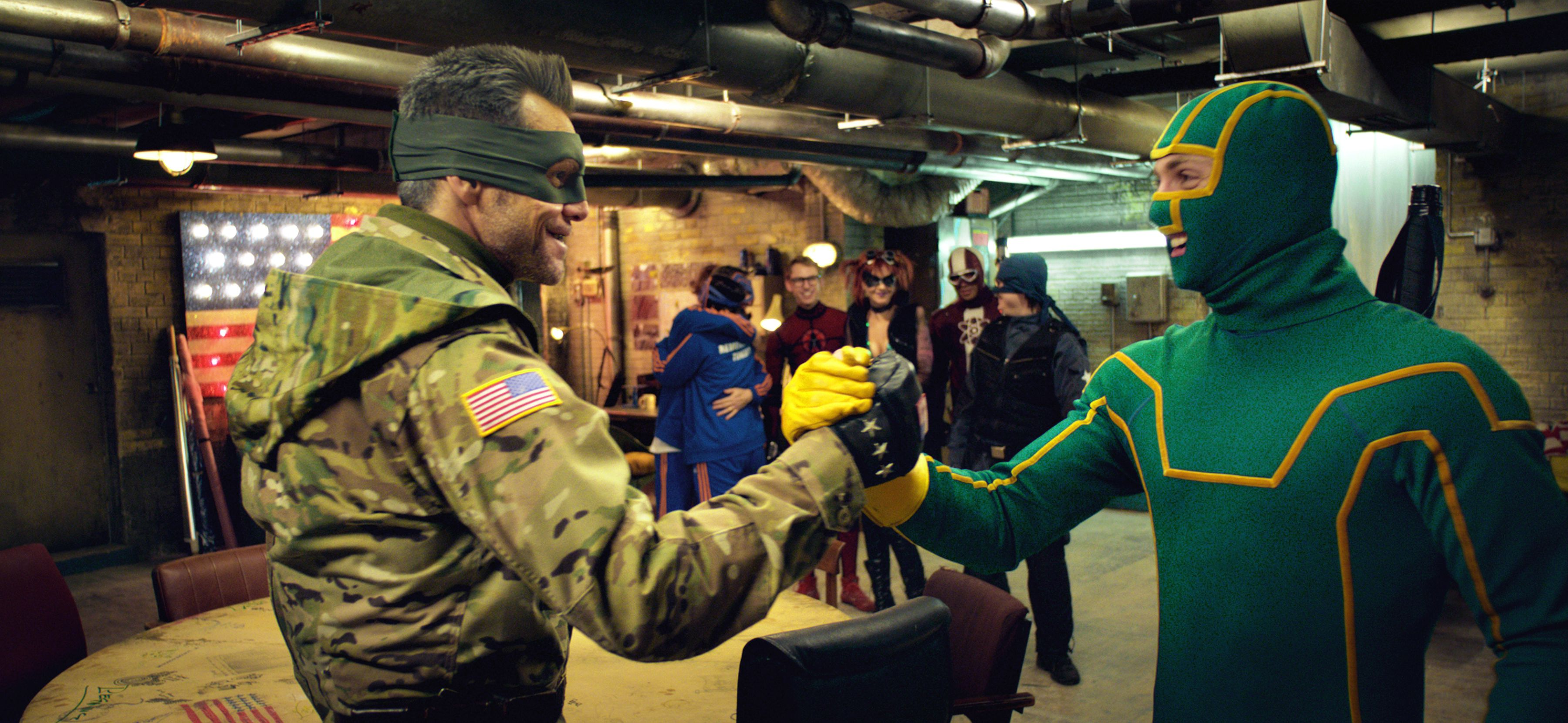 An image from Kick-Ass 2