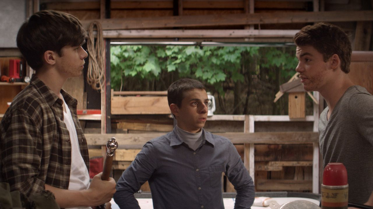 An image from The Kings of Summer