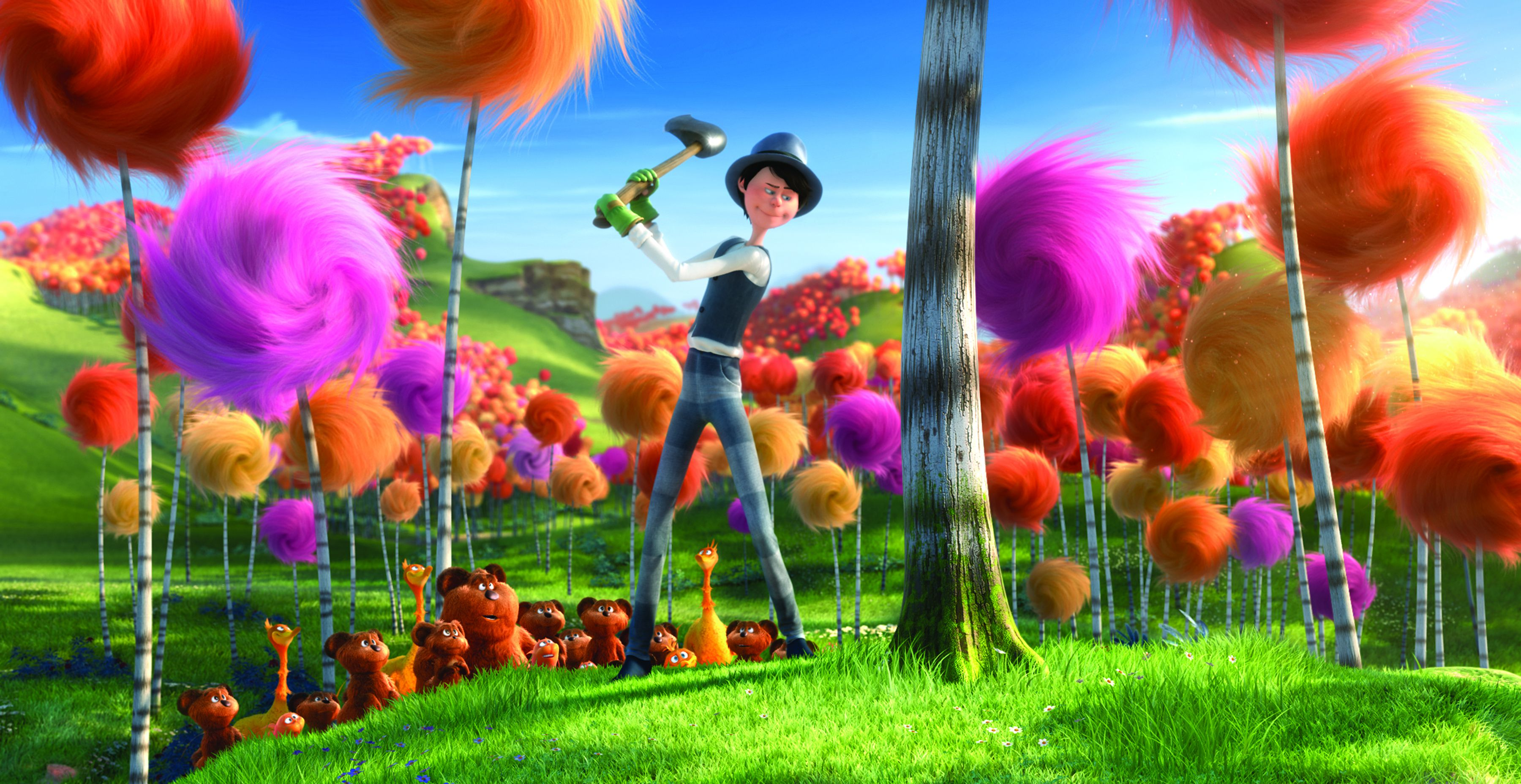 The lorax film review slant magazine for Fish in a tree summary