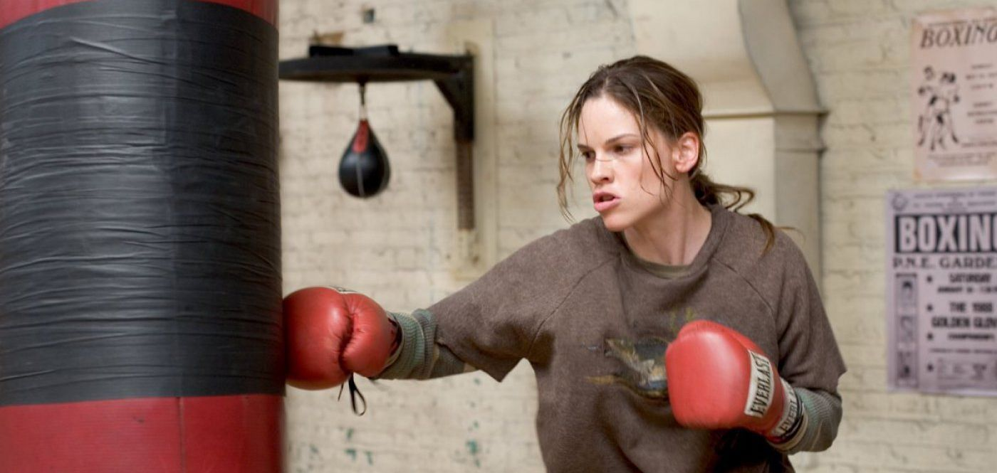 An image from Million Dollar Baby