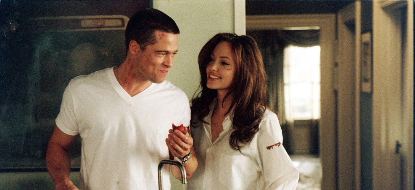 Image result for brad pitt angelina jolie mr and mrs smith
