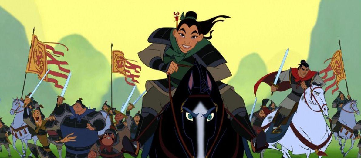 An image from Mulan
