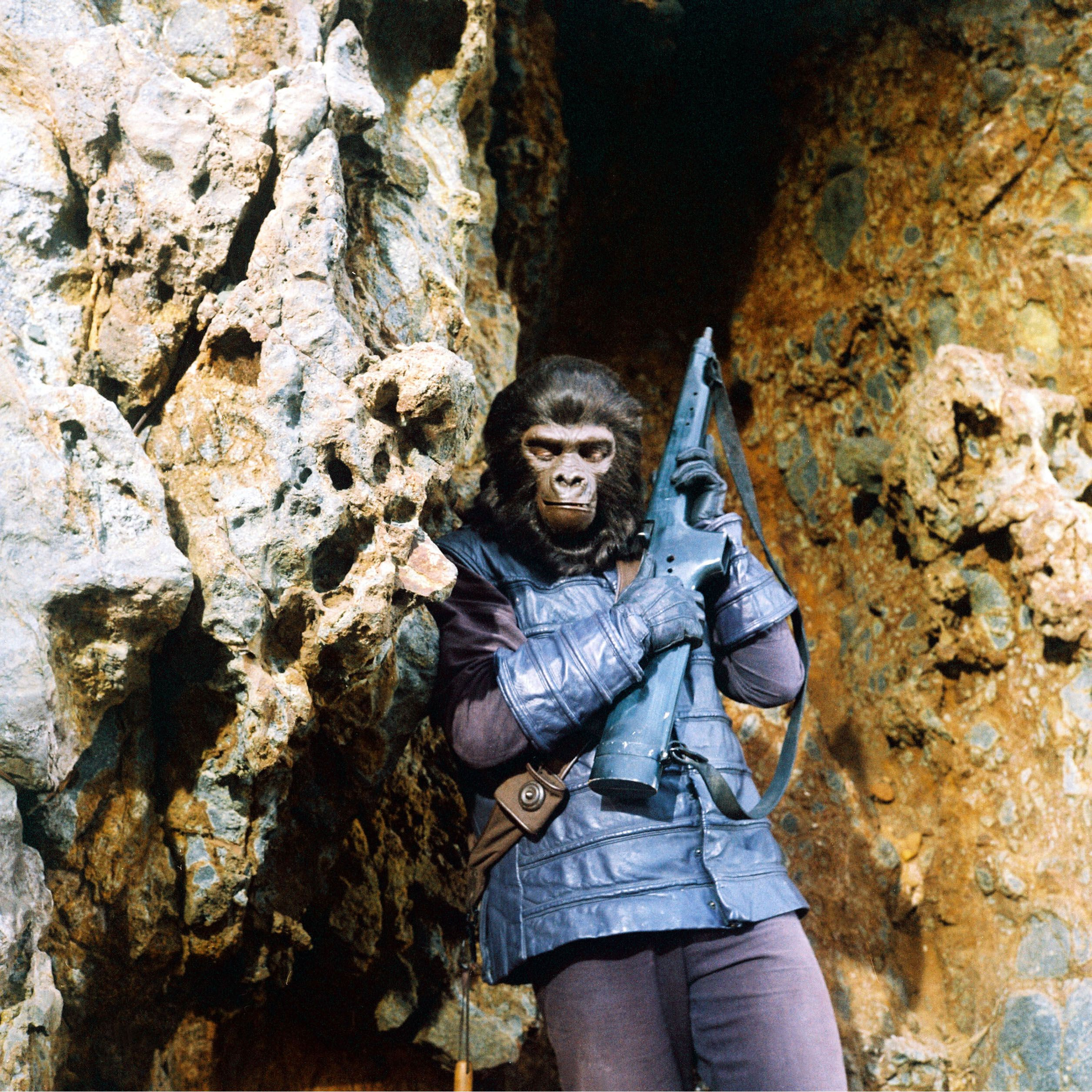 An image from Planet of the Apes