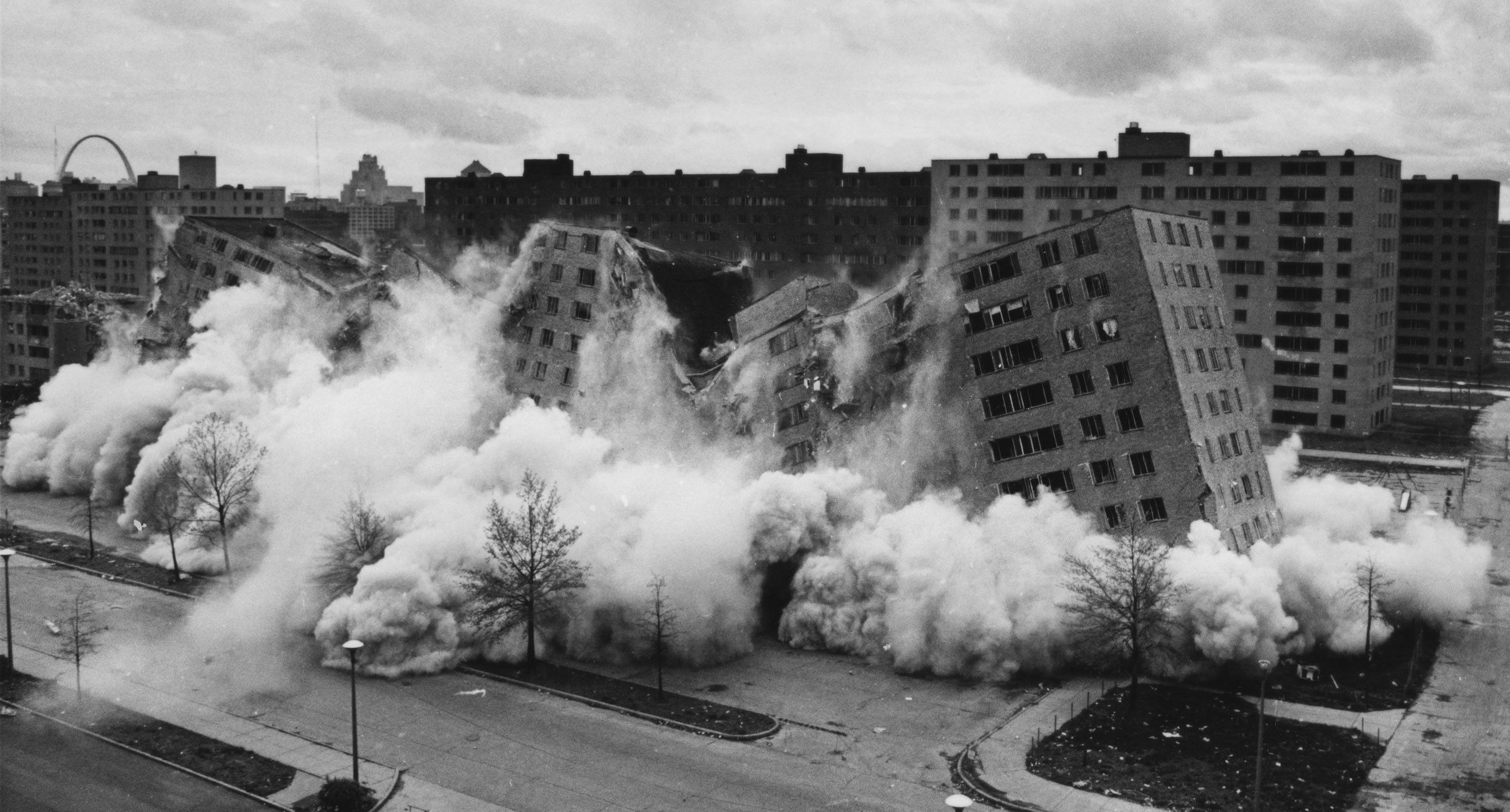 An image from The Pruitt-Igoe Myth