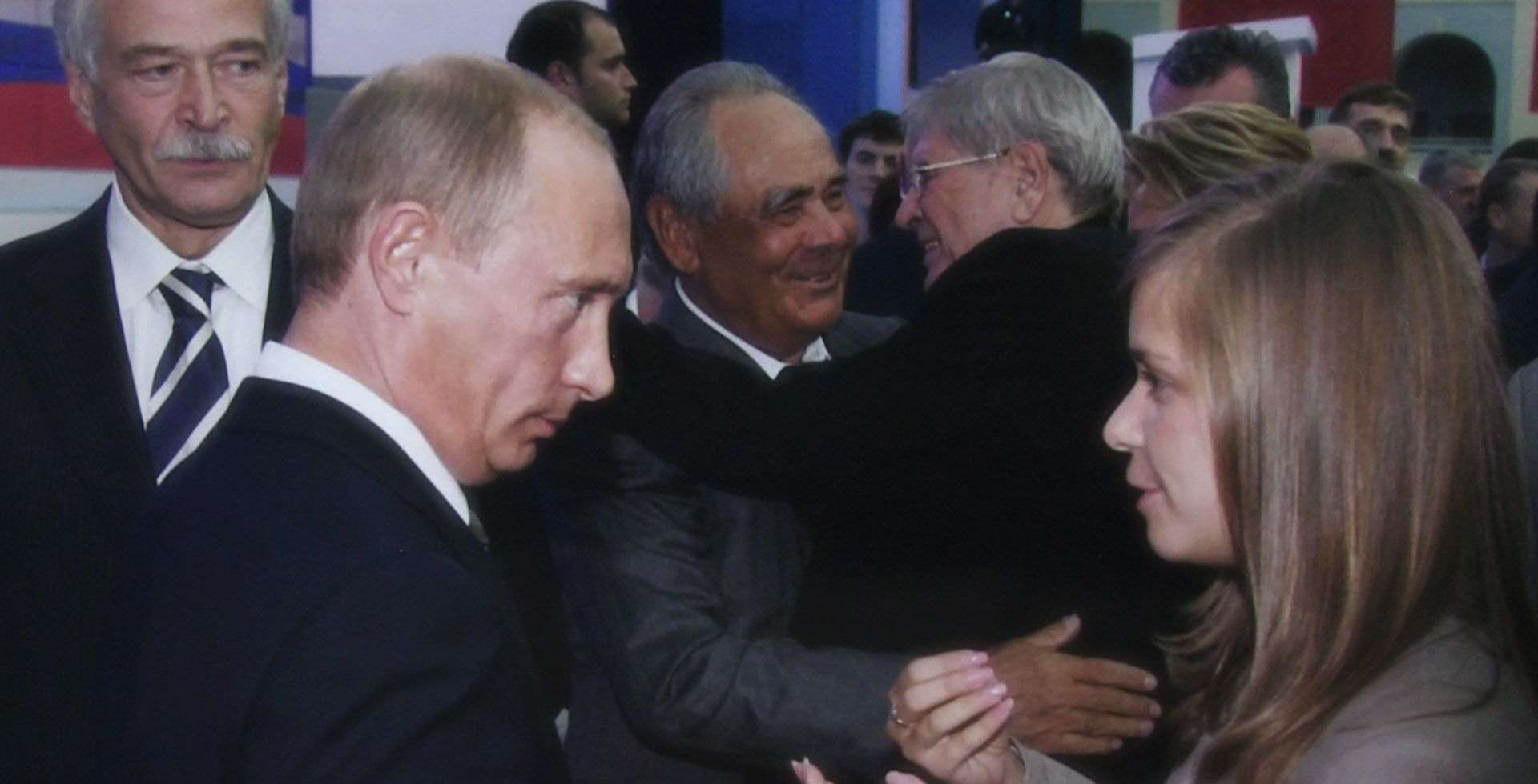 An image from Putin's Kiss