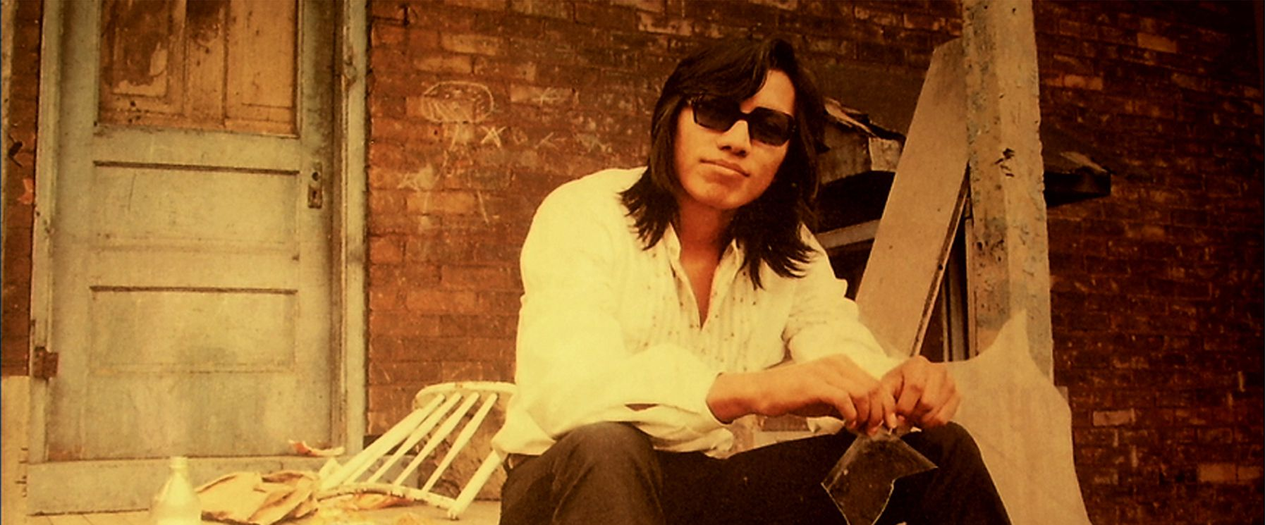 An image from Searching for Sugar Man