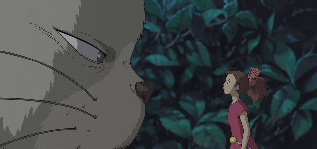 An image from The Secret World of Arrietty