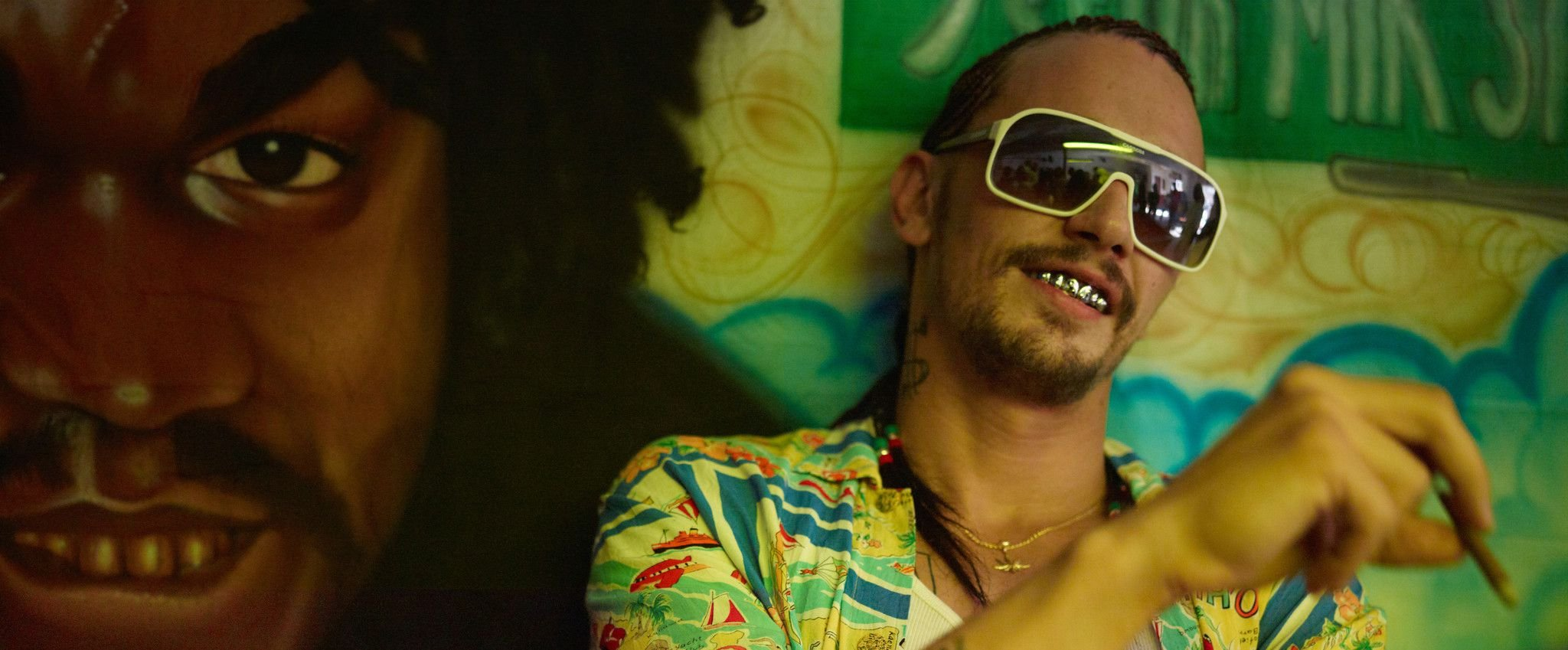 An image from Spring Breakers