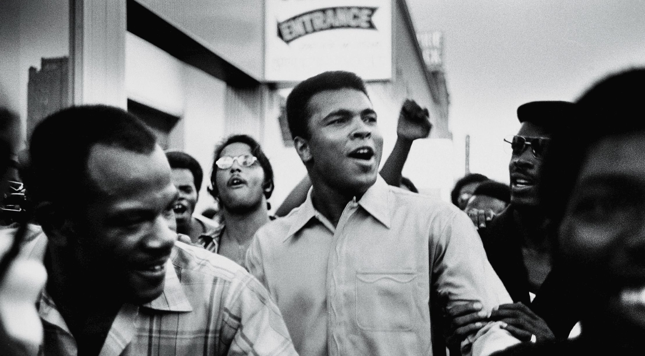 An image from The Trials of Muhammad Ali