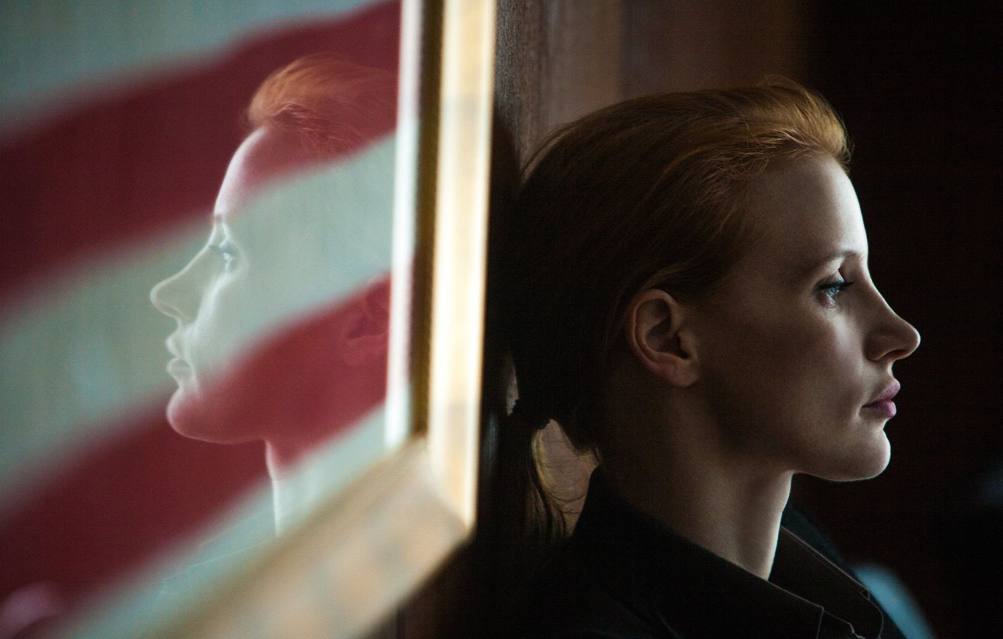 "Jessica Chastain as ""Maya"" in Kathryn Bigelow's Zero Dark Thirty"