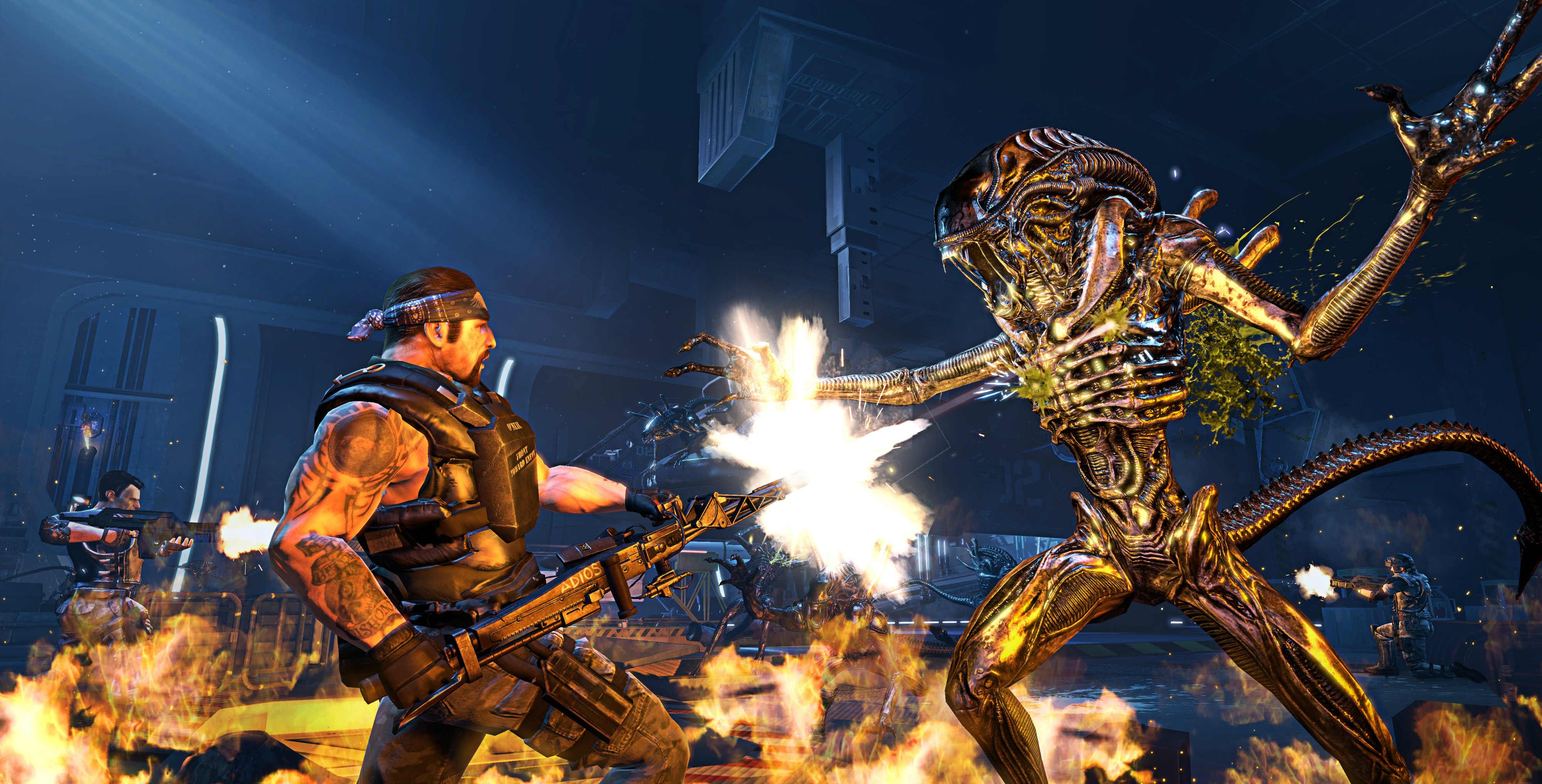 Publicity still for Aliens: Colonial Marines