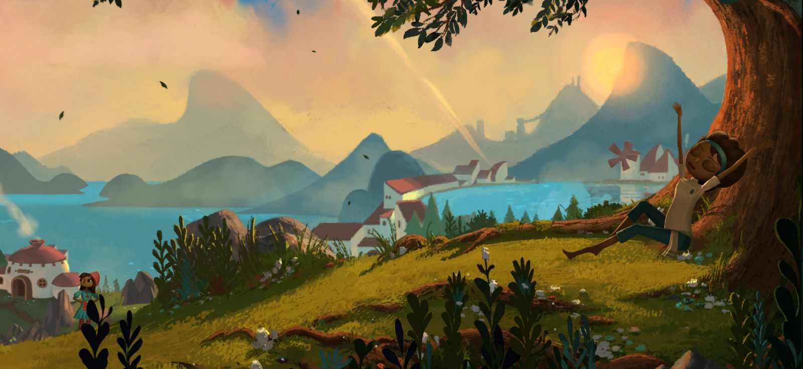 Publicity still for Broken Age