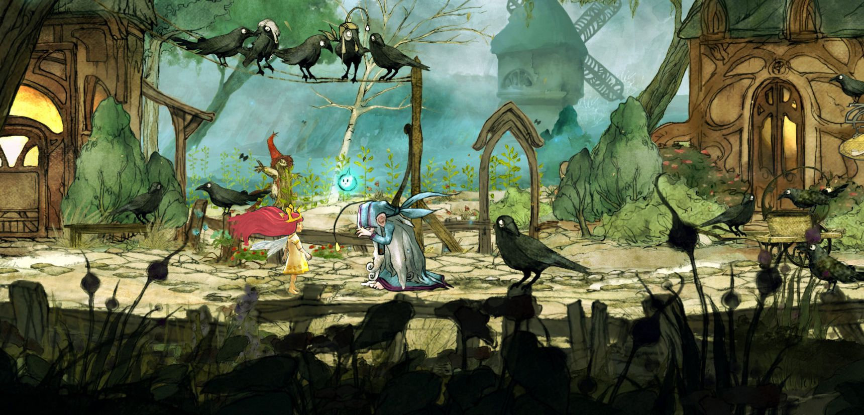 Publicity still for Child of Light