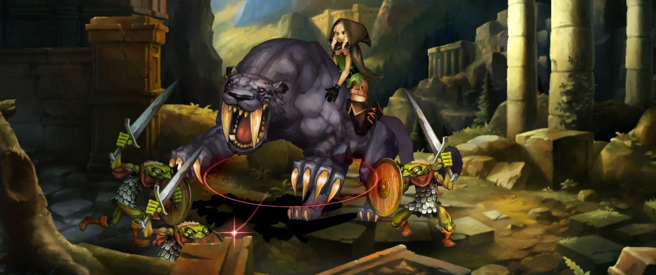 Publicity still for Dragon's Crown