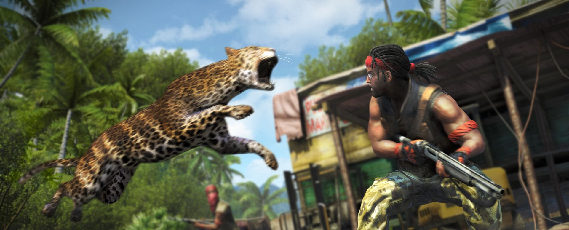 Publicity still for Far Cry 3