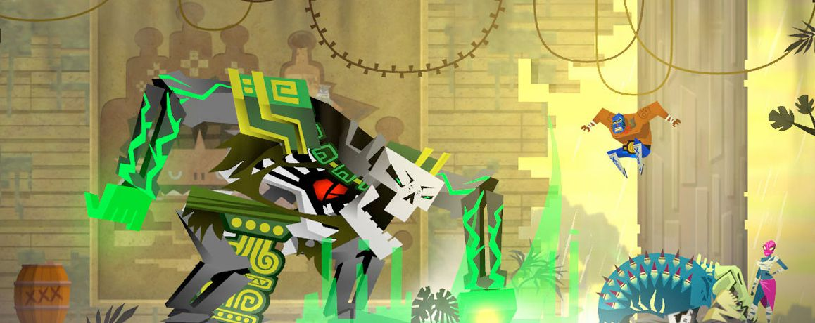 Publicity still for Guacamelee!