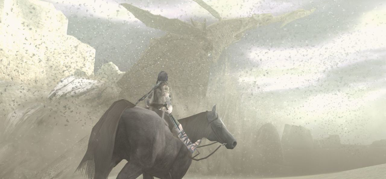 Publicity still for Ico & Shadow of the Colossus Collection